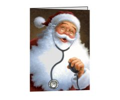 Doctor Santa Christmas Cards