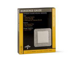 Bordered Gauze Adhesive Island Wound Dressing MSC3266