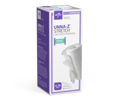 Unna-Z Stretch Elastic Zinc Oxide Paste Bandage by Medline NONUNNAS140H