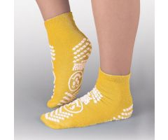 Risk Management Double-Imprint Terry Slipper Socks PBE3922001