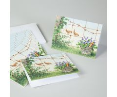 Birds on a Wire Mortar and Pestle Note Cards