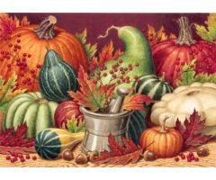 Bountiful Harvest Print Only