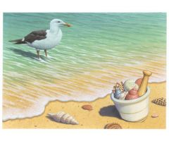 Pharmacy Seashore Print Only