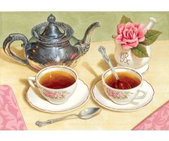 Tea Cups Print Only