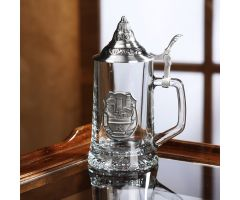 Pharmacy Glass Stein with Lid