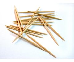 Sterile Wooden Toothpicks by DeRoyal QTX30413