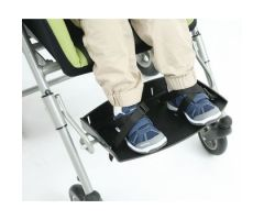Alvema Silver Pixi Positioning Chair-Pair of Standard Pixi Footstraps