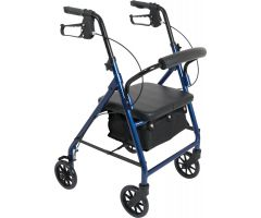 ProBasics Junior Rollator with 6-inch Wheels, Blue 250 lb Weight Capacity