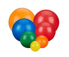 """Rolyan Energizing Exercise Balls - Orange - 55cm 21.5"""""""