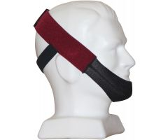 Premium Chin Strap, Ruby Red