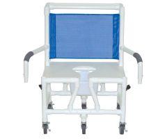 "Bariatric shower chair 26"" internal width"