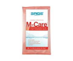 M-Care Meatal Cleansing Cloths by Sage Products-SGE7952