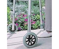 "5"" Fixed Wheels Extended Set 1"" Diameter (pair)"
