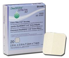 DuoDERM Extra Thin Dressings by Convatec SQU187901BX