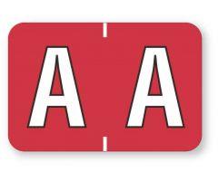 "Alpha File Folder Label - Barkley  ABKM Compatible Series, 1-1/2"" x 1""  ULAF8701A"