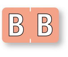 "Alpha File Folder Label - Barkley  ABKM Compatible Series, 1-1/2"" x 1""  ULAF8701B"
