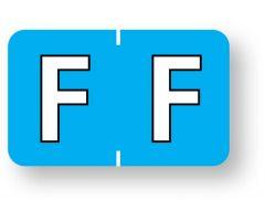 "Alpha File Folder Label - Barkley  ABKM Compatible Series, 1-1/2"" x 1""  ULAF8701F"