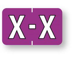 "Alpha File Folder Label - Barkley  ABKM Compatible Series, 1-1/2"" x 1""   ULAF8701X"
