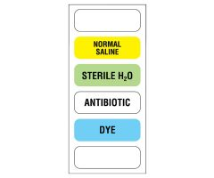 "6-label Anesthesia Sheet, 1-1/2"" x 1/2"" - 150 Labels"