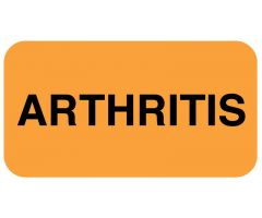 "ARTHRITIS 1-5/8"" x 7/8"""