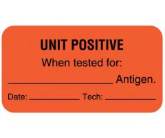 "Antigen Testing Label, 1-5/8"" x 7/8"""