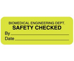 Electrical Equipment Safety Label - ULBE222