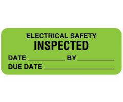 Electrical Equipment Safety Label - ULBE361