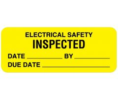 Electrical Equipment Safety Label - ULBE362