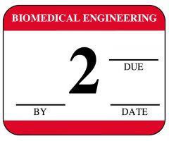 Biomedical Engineering Inspection Label