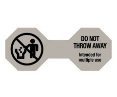 "Do Not Throw Away Cord Label, 5"" x 2"""