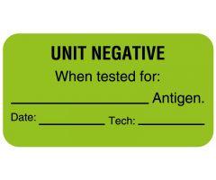 "Antigen Testing Label, 1-5/8"" x 7/8"" - ULBX736"