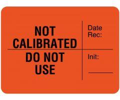 "Calibration Label, 1-3/4"" x 1-3/4"" - ULLR306"