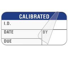 "Calibration Label, 1-1/2"" x 3/4"" - ULQA099"