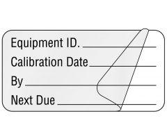 "Calibration Label, 2"" x 1"""