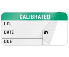 "Calibration Label, 1-1/2"" x 3/4"" - ULQA645"