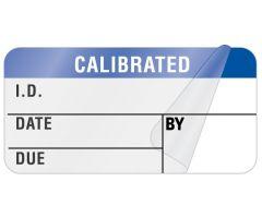 "Calibration Label, 1-1/2"" x 3/4"" - ULQA649"