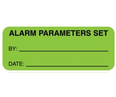 "Alarm Parameters Set, 2-1/4"" x 7/8"""