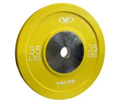 Valor Fitness Bumper Plate X 35 lbs
