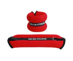 Valor Fitness 3lb Ankle Wrist Weight Pair