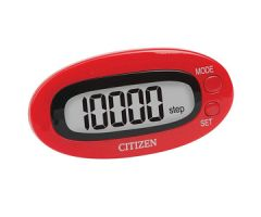 Veridian Citizen Digital Pocket Pedometer Red