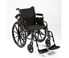 "Roscoe Reliance III Wheelchair (20"" with Swing Away Footrests)"