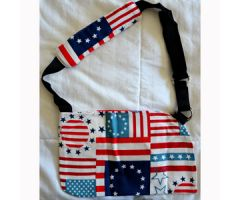 Wheelchair Solutions  Alt Flag Pattern Arm Sling