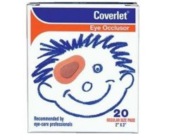 Coverlet Eye Occluders by Wilson Ophthalmic Corp WIO011901620
