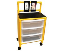 Yellow universal isolation cart Y3U3D-ISO